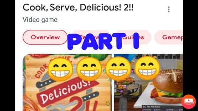 Cook, Serve, Delicious! 2!! Part 1- THIS IS TOUGH