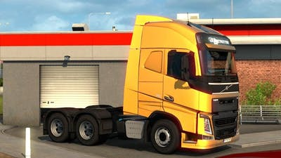Euro Truck Simulator 2 - Volvo FH Picking Up a Trailer