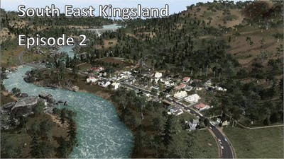 Valley Town, Wollumbin Dam and Tyrone Bay - Cities Skylines - South East Kingsland - Episode 2