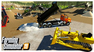 AUTOMATING AND BUY NEW EQUIPMENT FOR OUR OPEN PIT MINE | Farming Simulator 19