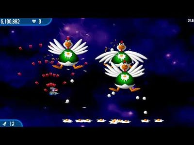 Chicken Invaders 2 gameplay in 2021 (childhood video game)