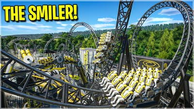 THE SMILER Recreated In Planet Coaster! *Extremely Realistic*