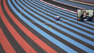 Did you know? Different grip simulated in Paul Ricard colored asphalt strips