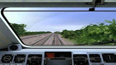 Midland mainline HST rail simulator HD