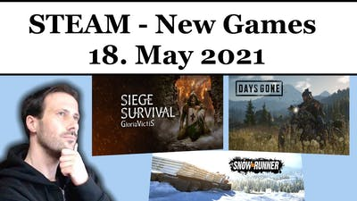 STEAM - Game Releases - TOMORROW - May 18.