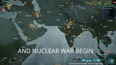 India Nuclear War Simulation (ICBM Gameplay)