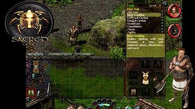 Sacred Gold Edition Gladiator Game Play