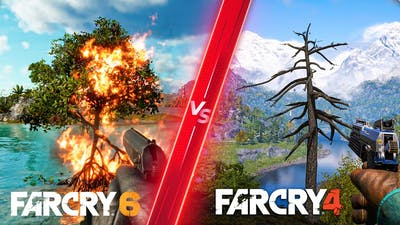 Far Cry 6 vs Far Cry 4 - Direct Comparison! Attention to Detail & Graphics! PC ULTRA 4K