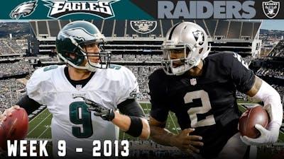 Nick Foles' Historic 7-Touchdown Game! (Eagles vs. Raiders, 2013)