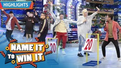 Team Vhong and Team Vice both get a perfect score | It's Showtime Name It To Win It