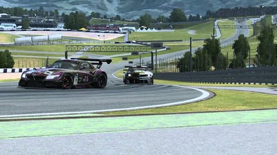 Raceroom Racing Experience | Fight for the second place | GTR 3 @ Red Bull Ring