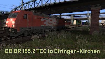 DB BR 185.2 TEC to Efringen-Kirchen