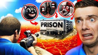 Finding TREVOR HENDERSON PRISON ISLAND In GTA 5 (Secret)