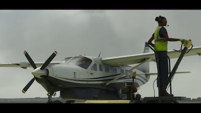 Cessna C208B Grand Caravan Start Up & Take-Off (FS2020)