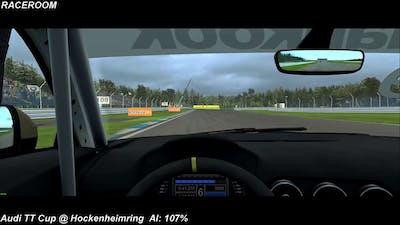 RaceRoom - Audi TT Cup - Hockenheimring