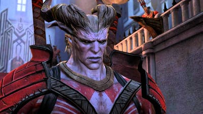 Dragon Age 2: Qunari crisis: Hawke betrays Isabela to the Arishok