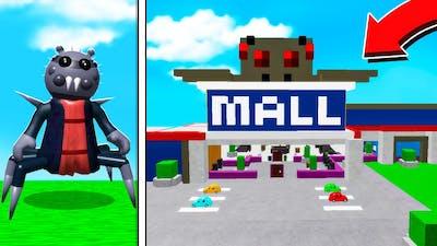 ROBLOX PIGGY SPIDELLA'S SPOOKY MALL! (Piggy Build Mode)