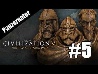 Canute Rockne? Vikings, Traders, and Raiders! Civilization VI episode 5