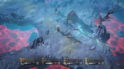 Helldivers - Arc Thrower + Missile Barrage vs Cyborgs