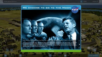 First Gaming Video   Buzz Aldrin's Space Program Manager