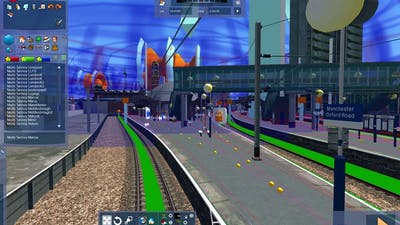 Manchester Oxford Road station announcements for Train simulator