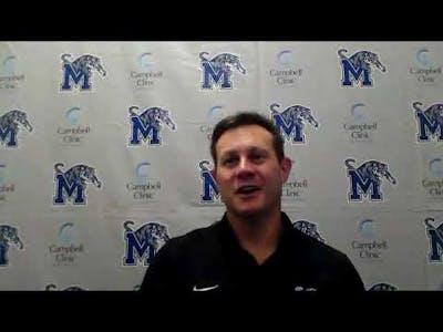Memphis Tigers Football Post Game: Ryan Silverfield