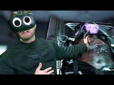 WHAT HAPPENED TO HIM!? | Batman: Arkham VR