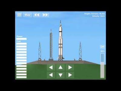 Apollo 11 in Spaceflight Simulator