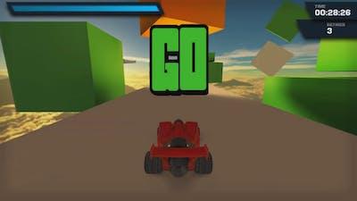 GAME KIDS LETS PLAY : Jet Car Stunts
