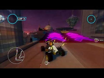 Sonic and All-Stars Racing Transformed (PS3) - Graffiti City/S-Class/Beat