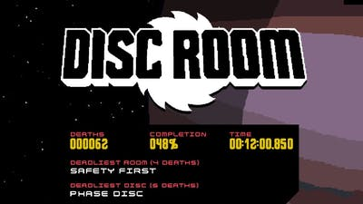 Disc Room any% speedrun - 12.00.850 IGT (Previous WR)