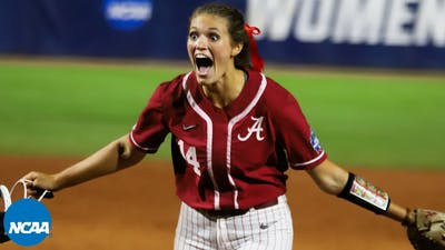 All 21 outs from Montana Fouts' WCWS perfect game