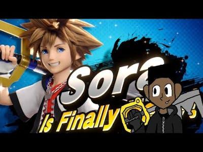 SORA'S IN SMASHHHHHHH!!!!!!!! Super Smash Bros. Ultimate