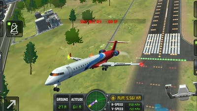Flight sim 2018 real #2 –plan simulator full flight with atc call android game play || plan game |