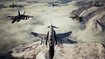 Faceless Soldier | Ace - F-4E - LAGM - No Parts| Ace Combat 7: Skies Unknown.