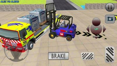 Best Contruction Simulator Game!City Construction Simulator: Forklift Truck Game!