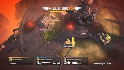 Helldivers - Bastion & Hammer vs Cyborgs (RS)