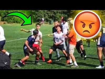 HighSchool SOCCER FIGHTS 2019-2020 Compilation