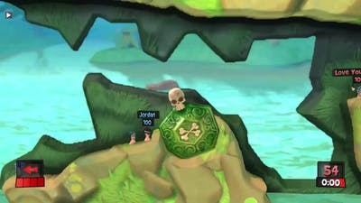 Worms Revolution Live Stream - Game 2