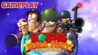 Worms World Party Remastered - Gameplay