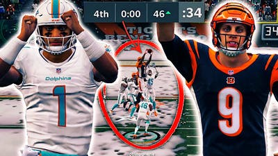 BURROW and TUA Go Back and Forth in Legendary Game!! Madden 21