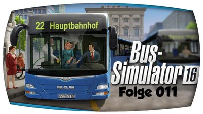 Bus-Simulator 16 - [011] - Sie hat es nicht gesehen ? | Let's Play BS16