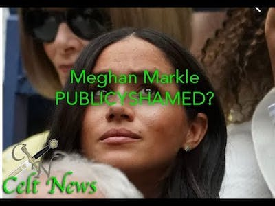 MEGHAN PUBLICY SHAMED by world tennis star Martina? Is she LAZY? And has she CURSED SERENA'S GAMES?