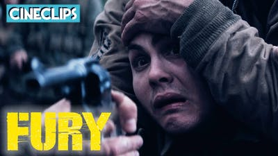 Being Forced To Execute A Soldier | Fury | CineClips