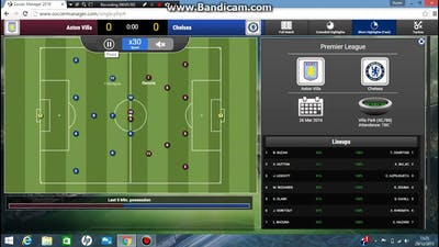 Soccer Manager Chelsea Career # 22 : Closing In On The Title
