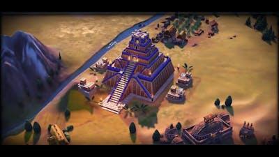 Civilization 6 All 53 Wonders (New Frontier Pass) (sort by Era)