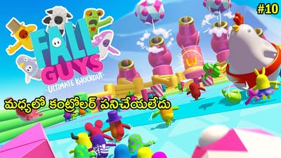 Fall Guys Ultimate Knockout In Telugu   Gameplay #10   THE COSMIC BOY