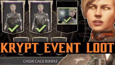 MK11 Season 4 Cassie Cage KL / Krypt Event Bundle