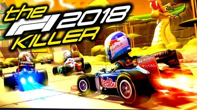 STARTING A CAREER ON THE BEST F1 GAME! - The F1 2018 Game Killer