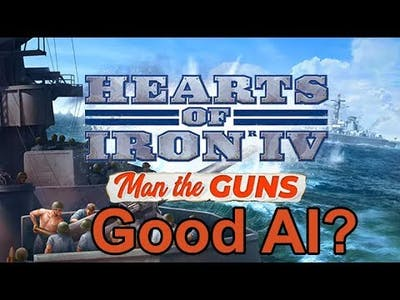 Hearts of Iron IV Man the Guns - Smart AI?
